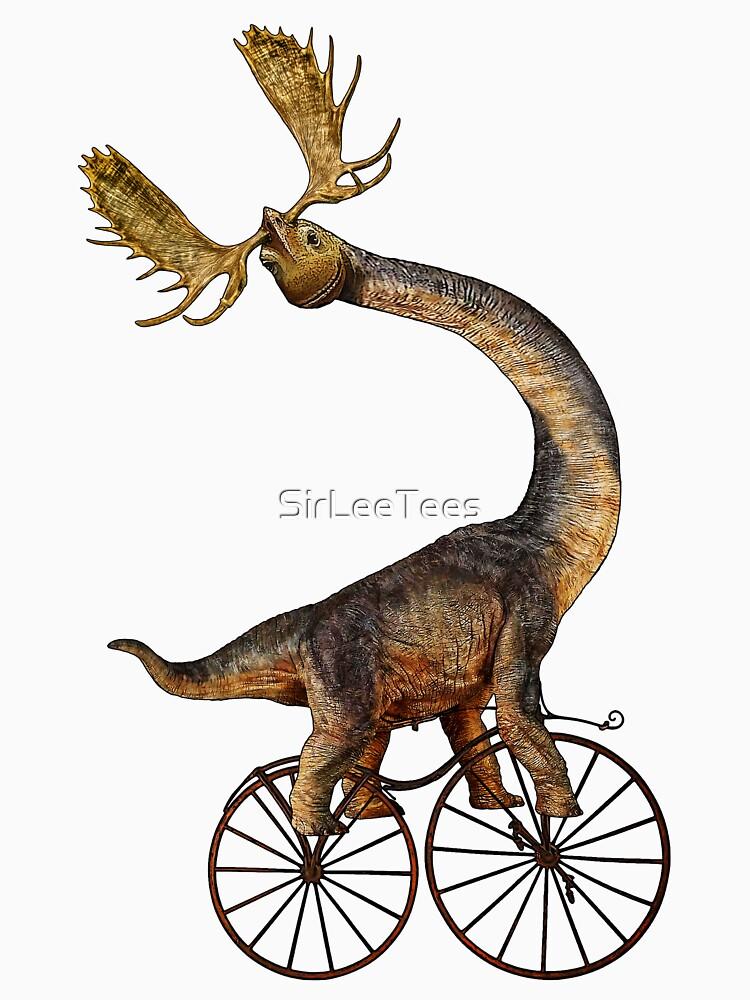 Brachiosaurus Brachiolope on Velocipede von SirLeeTees