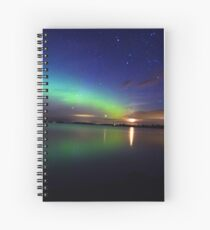 Northern Lights Spiral Notebook