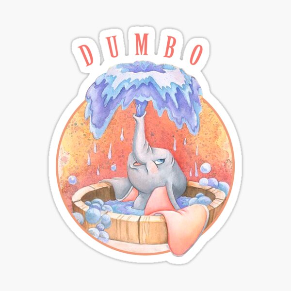 Ducha Dumbo Pegatina