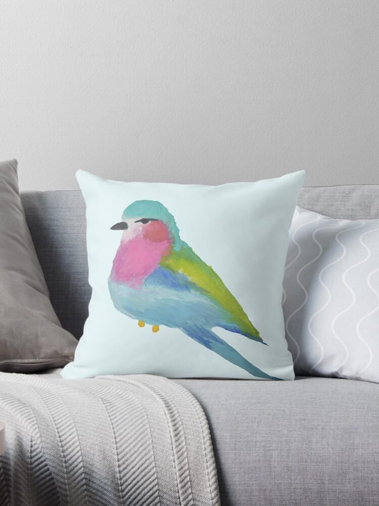 Watercolour bird 2 by pink-lemonade