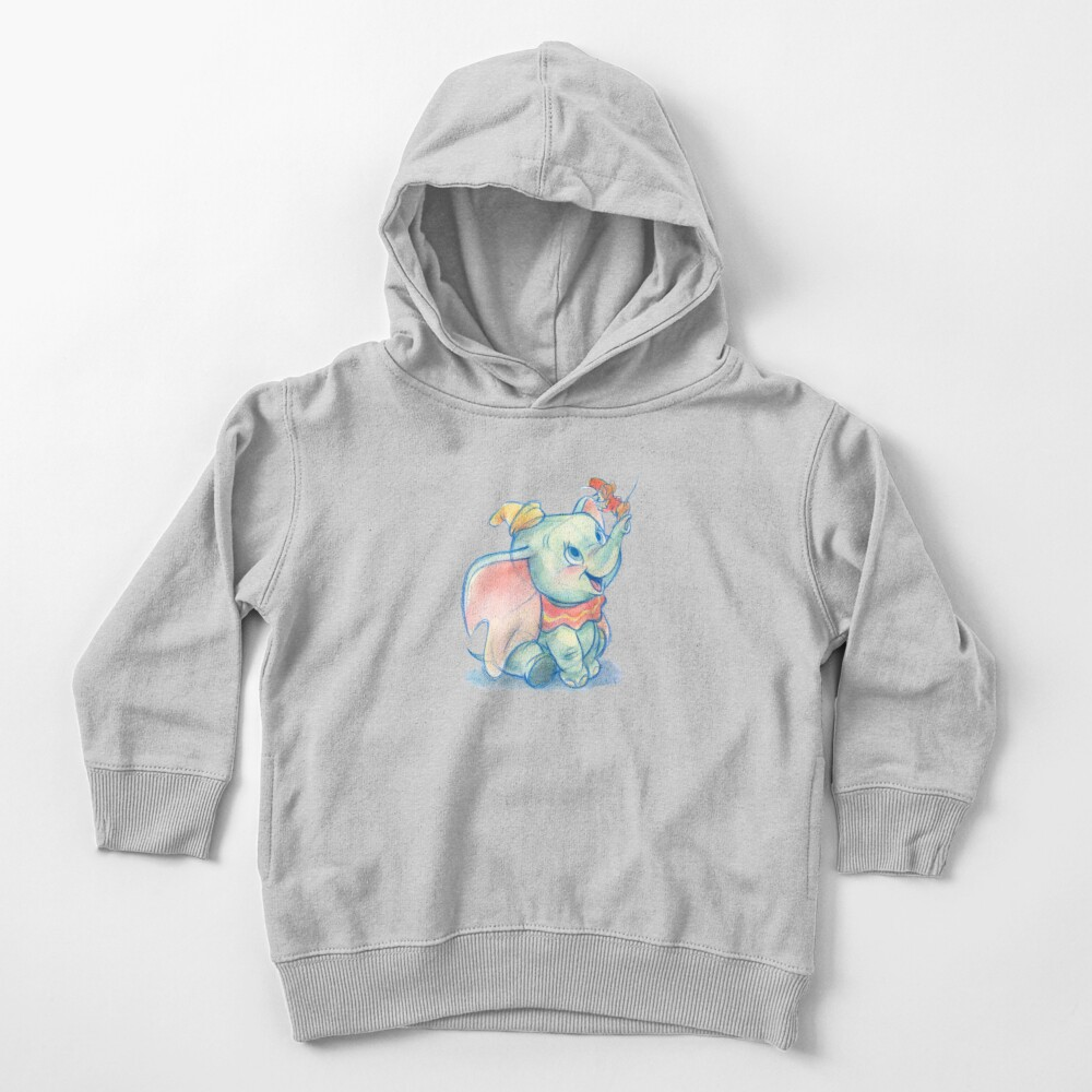 Dumbito skecth Toddler Pullover Hoodie