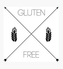 Gluten Free Arrows Photographic Print