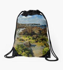Mystery Bay Drawstring Bag