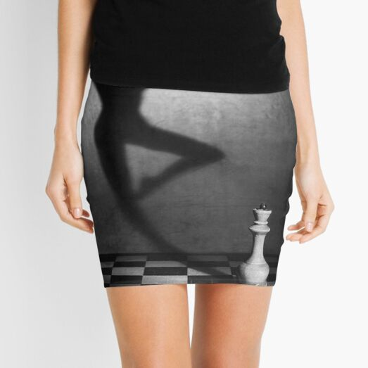 #monochrome #chess #people #black and white shadow adult art concentration vertical strategy naked Mini Skirt