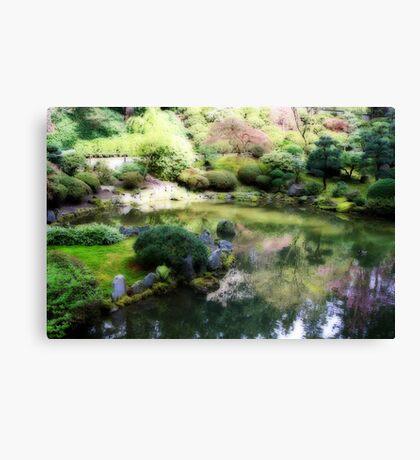 Reflecting Pool Canvas Print