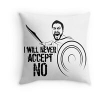 i will never accept no auf Redbubble von pASob-dESIGN