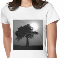 Boab Tree Womens Fitted T-Shirt
