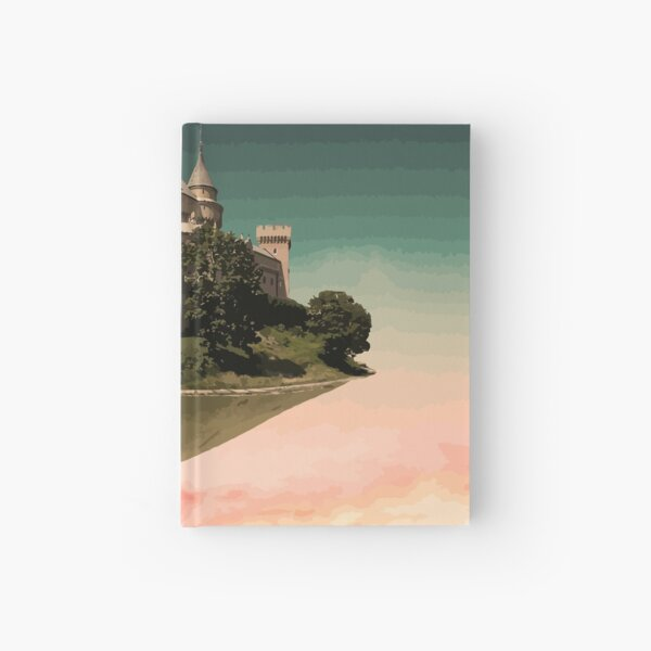 Castle in the Sky Hardcover Journal