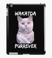 Wakatda Purrever iPad Case/Skin