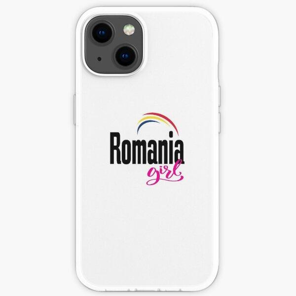 Romania Girl Romanian Romania Raised Me iPhone Soft Case