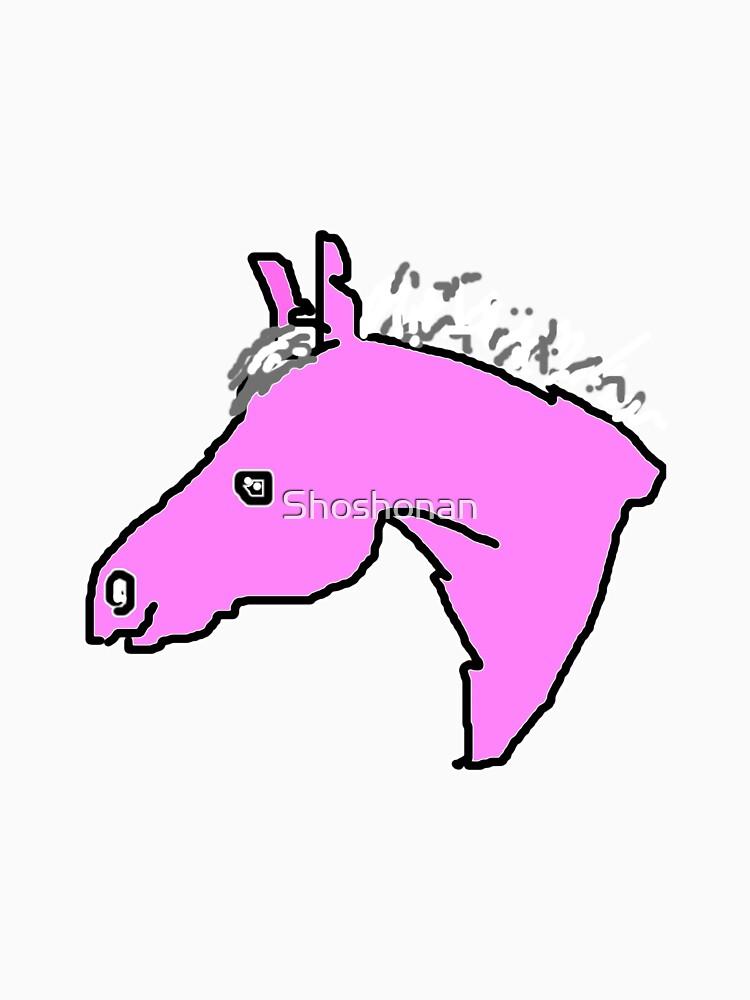 Purple Pony by Shoshonan