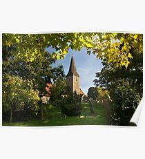 All Saints Church at Birchington Poster