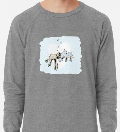 Koala and Sloth Sleeping Lightweight Sweatshirt