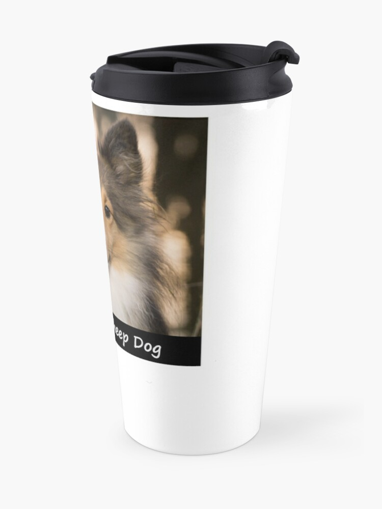 Alternate view of Shetland Sheep Dog Travel Mug