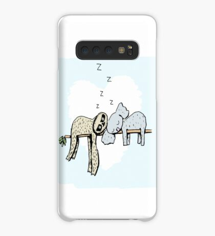 Koala and Sloth Sleeping Case/Skin for Samsung Galaxy