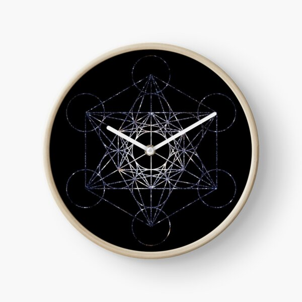 Metatron's Cube Star Cluster - Sacred Geometry Clock