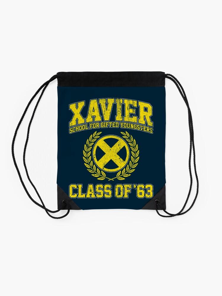 Alternate view of Xavier Class of 63 Drawstring Bag