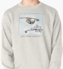 Koala and Sloth - Sleep Together Pullover Sweatshirt