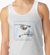 Koala and Sloth - Sleep Together Tank Top