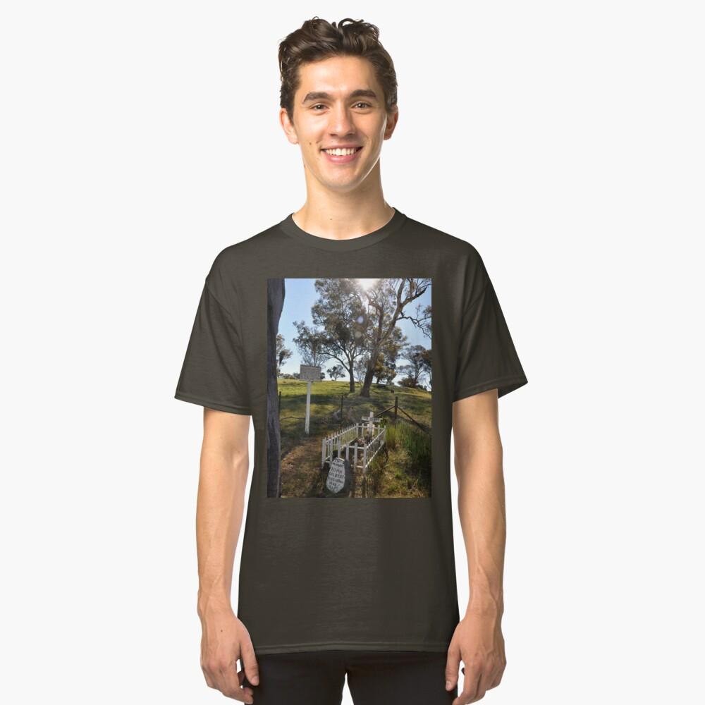 Bushranger (John Gilbert) Grave, Australia 2012 Classic T-Shirt Front