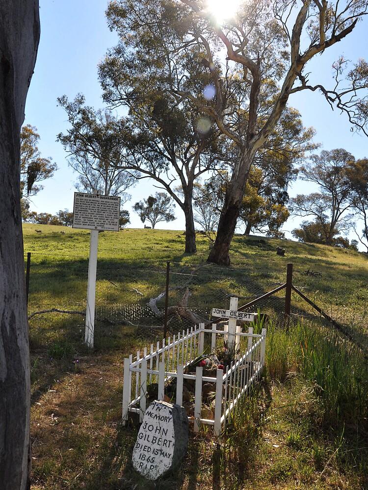 Bushranger (John Gilbert) Grave, Australia 2012 by muz2142