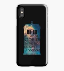 We Are All Stories iPhone Case/Skin
