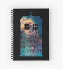 We Are All Stories Spiral Notebook