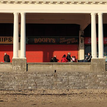 Barry Island chip shops by crware