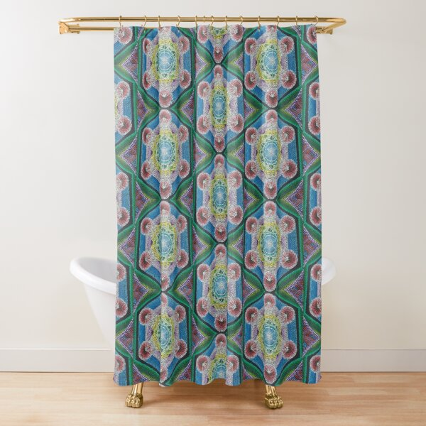 Metatron's Cube Shower Curtain