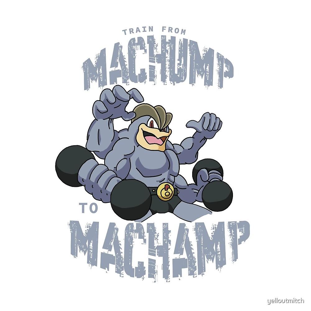 Machamp Workout by yelloutmitch
