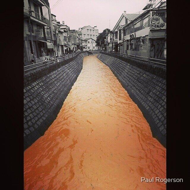 A river in Dalat, Vietnam. by Paul Rogerson