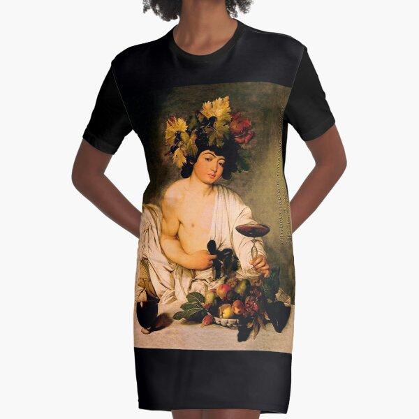 Bacchus - Michelangelo Merisi da Caravaggio T-Shirt Kleid