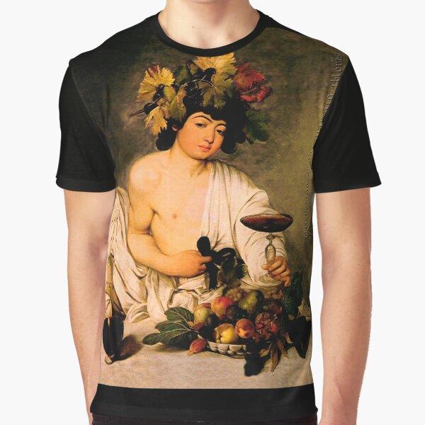 Bacchus - Michelangelo Merisi da Caravaggio Grafik T-Shirt
