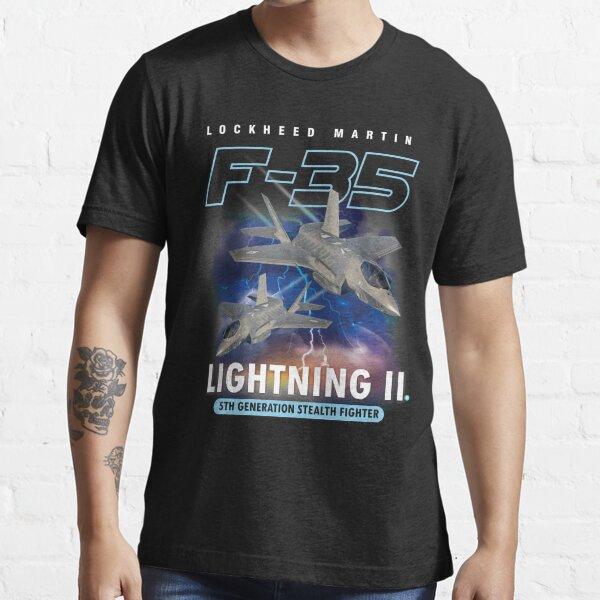 F-35 Lightning II Pilot Gift Essential T-Shirt