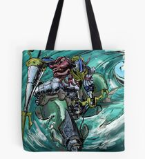 Wave-Rider Knight  Tote Bag