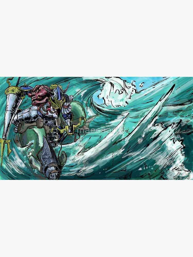 Wave-Rider Knight  by maecaart