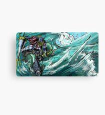 Wave-Rider Knight  Metal Print