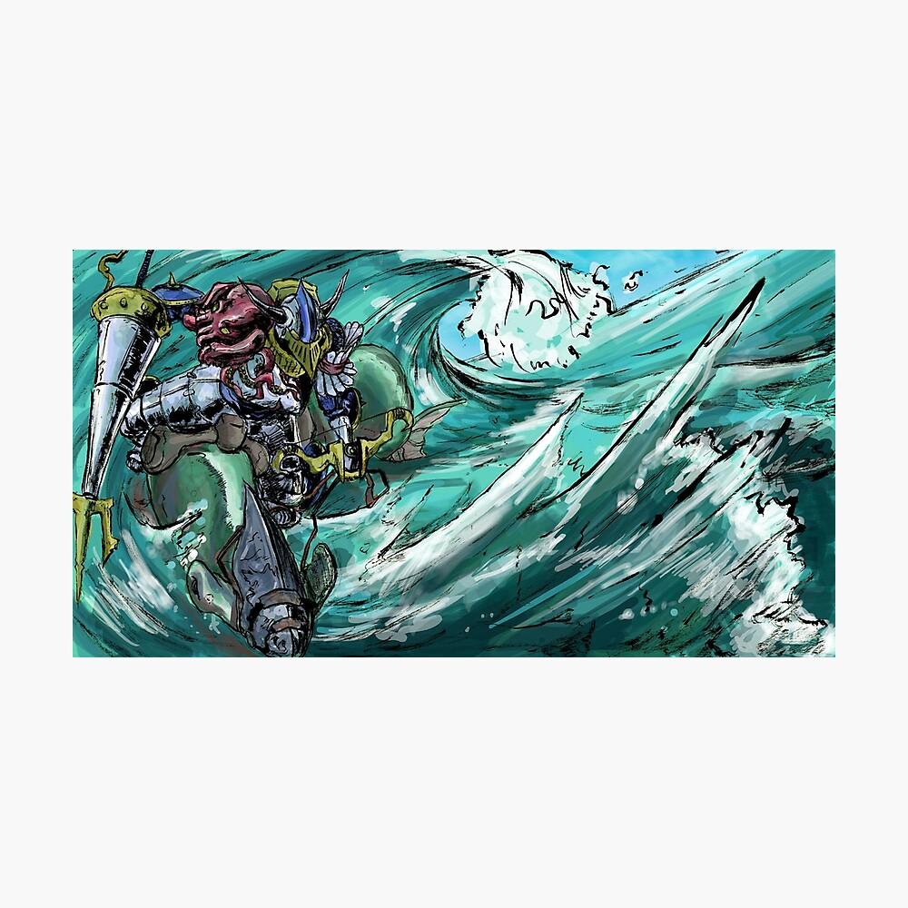 Wave-Rider Knight  Photographic Print