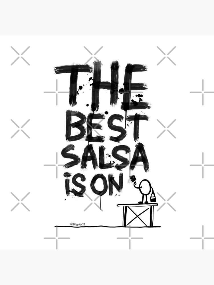 La mejor salsa es on... de bailopinto