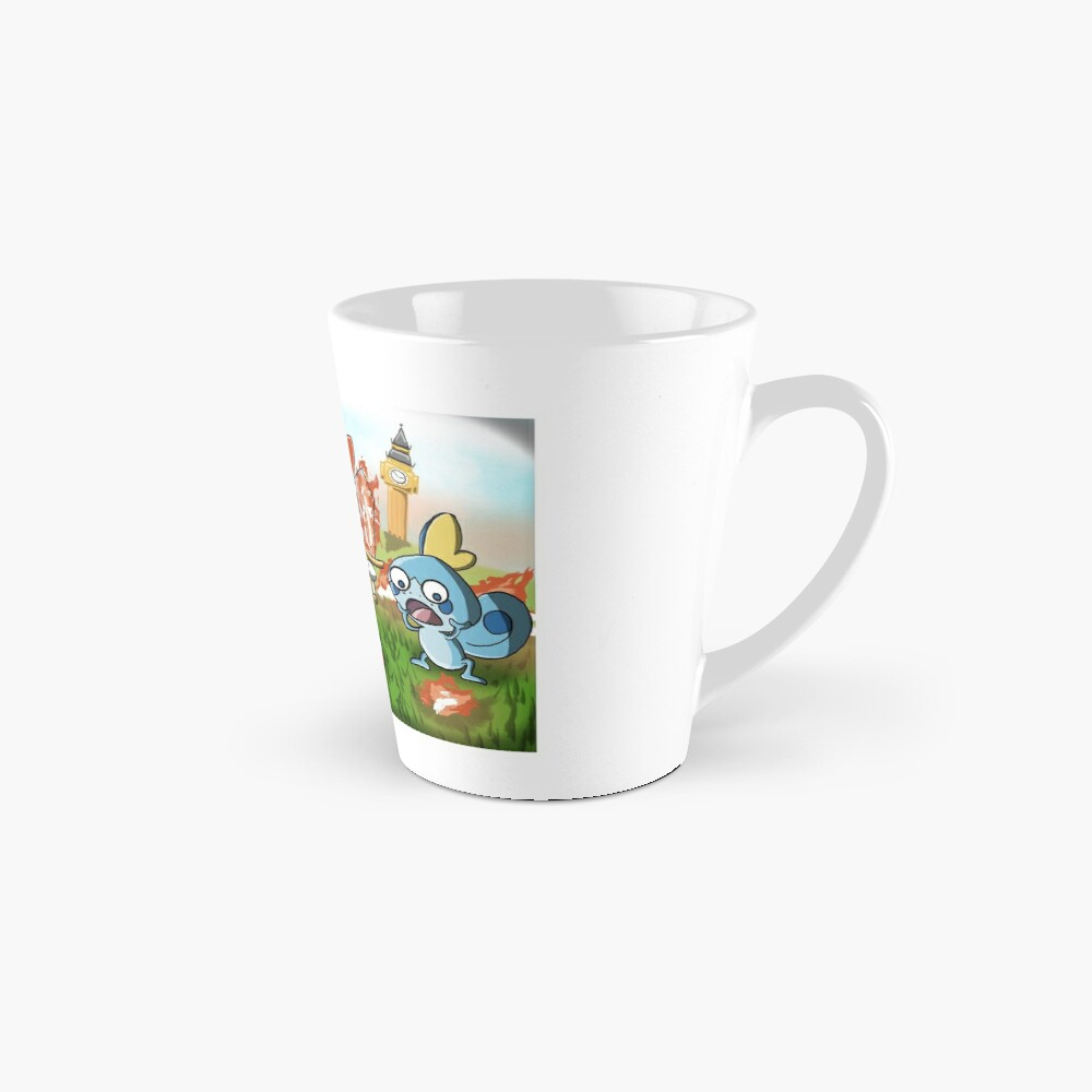 Scorchedbunny and Friends - Sword and Shield Tall Mug