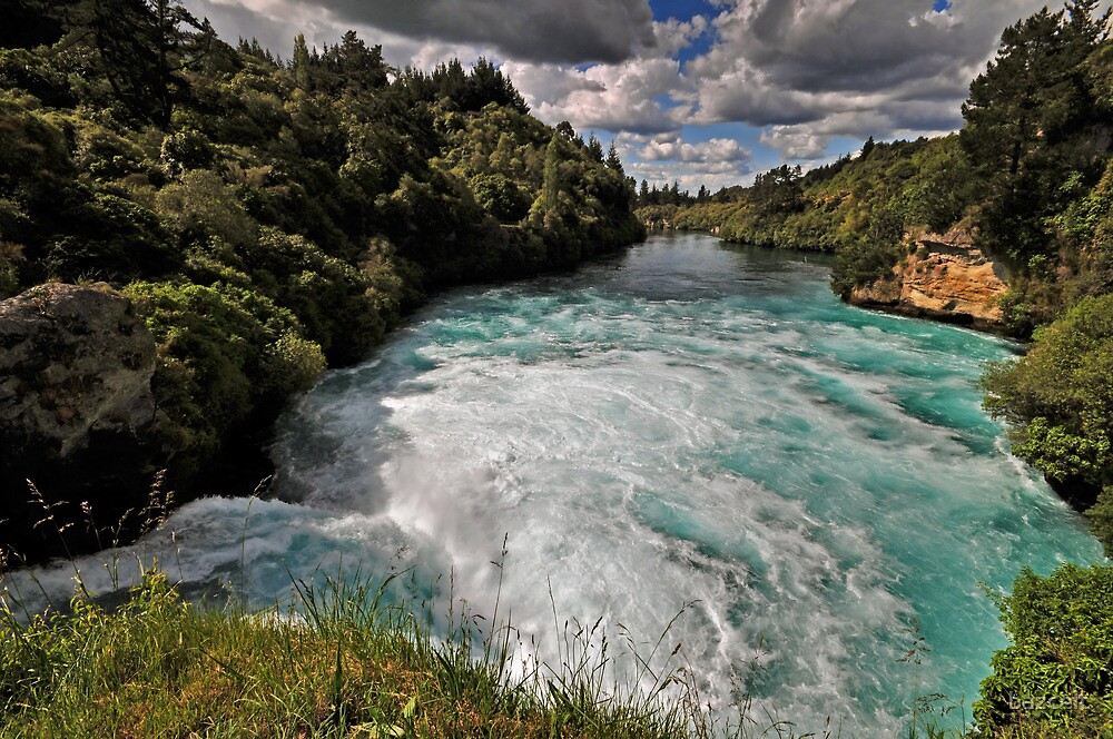 Huka Falls, Mighty Waikato by bazcelt
