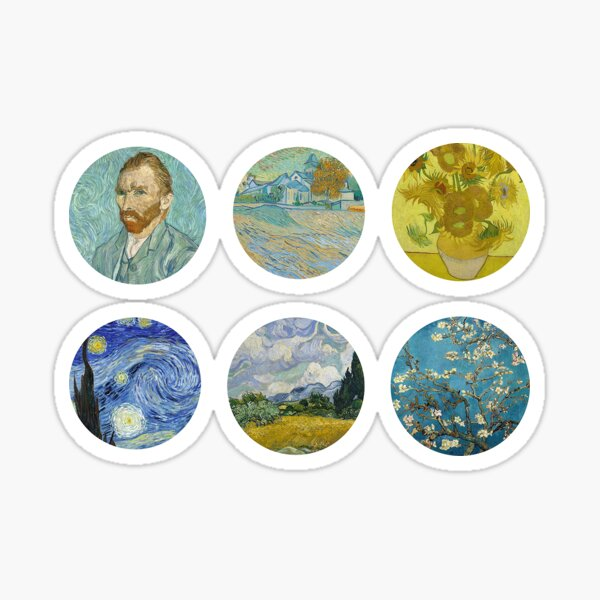 Van Gogh Sticker Pack Sticker