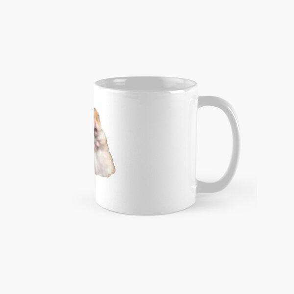 Peace Sign and Screaming Hamster Classic Mug