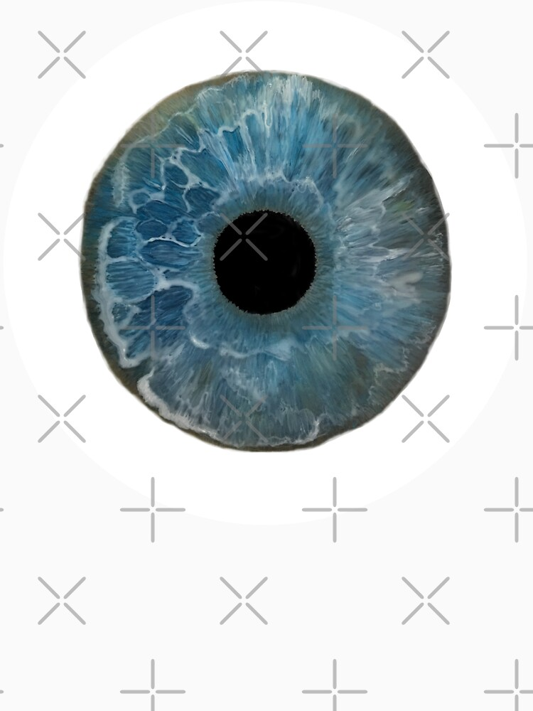 Painted Bowie Blue Eye  by heARTcart