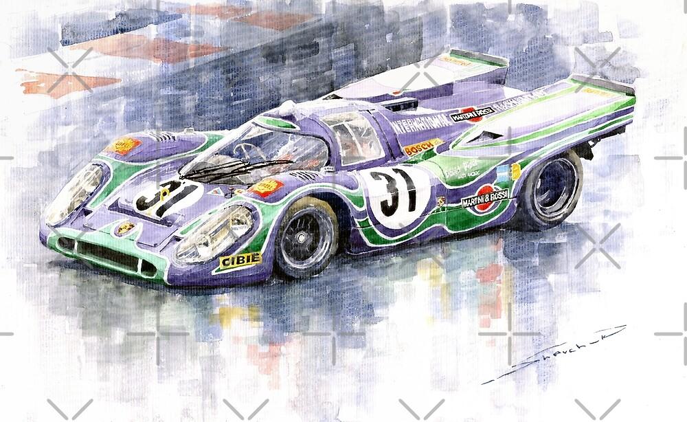 Porsche 917 K  Martini Racing 1970 by Yuriy Shevchuk
