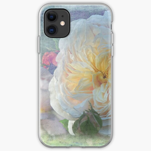 Old English Rose - Emanuelle iPhone Soft Case