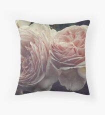 A Shropshire Lad - English Rose - Vintage Style Throw Pillow