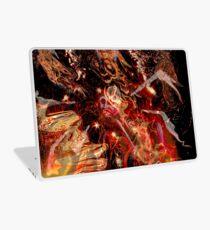 swirling fire universe Laptop Skin