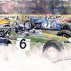 Germany GP Nurburgring 1969  by Yuriy Shevchuk