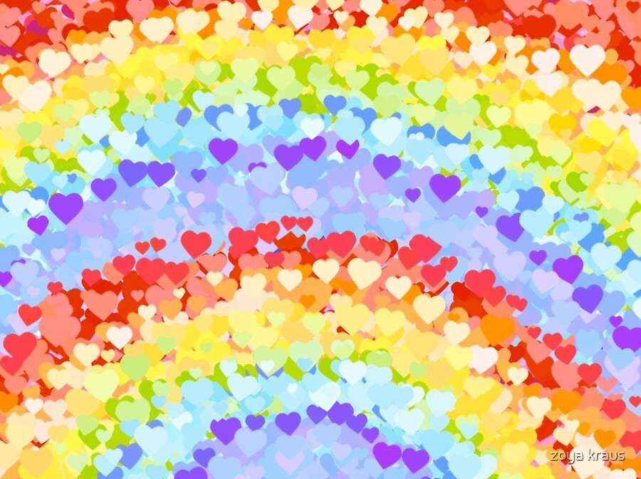 Rainbow Love by zoya kraus